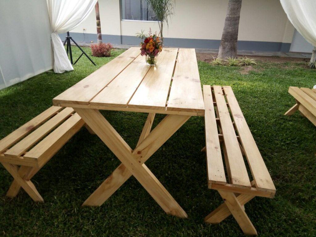 alquiler de mesas picnic