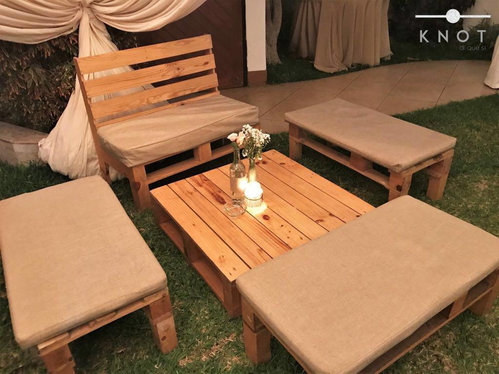 alquiler de mobiliario rustico
